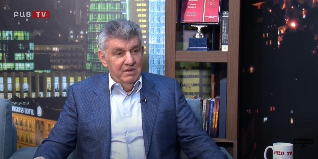 Интервью президента Союза армян России Ара Абрамяна Гамлету Гущяну (видео)