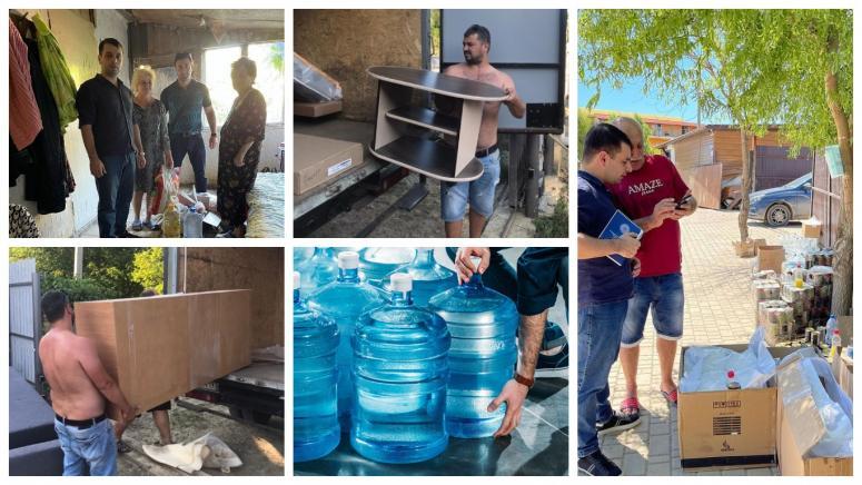 Армяне Краснодарского края оказали помощь пострадавшим от стихии