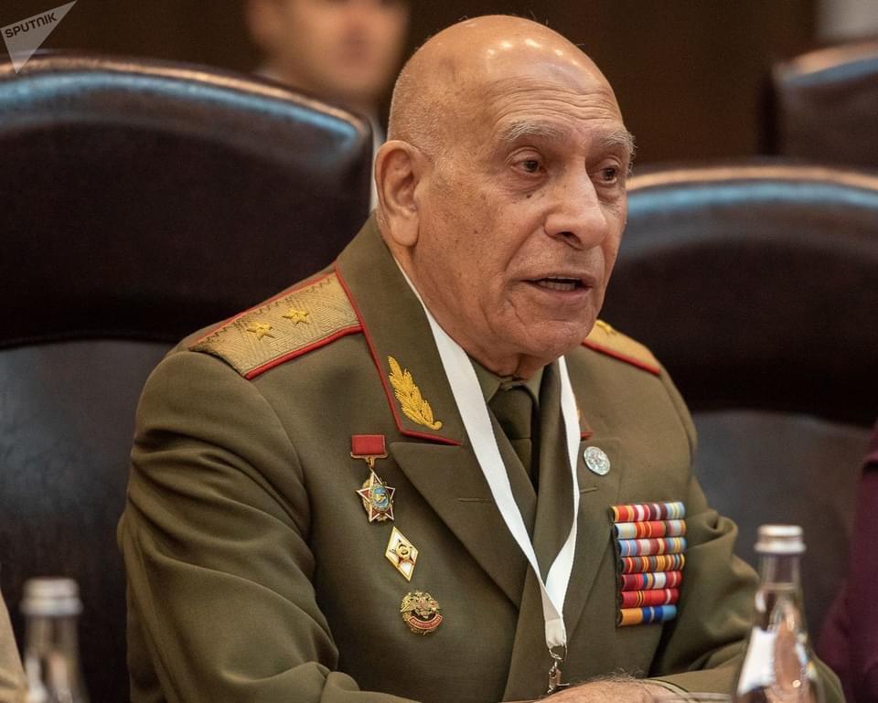 Поздравляем Генерал-лейтенанта Нората Григорьевича Тер-Григорьянца с ЮБИЛЕЕМ!