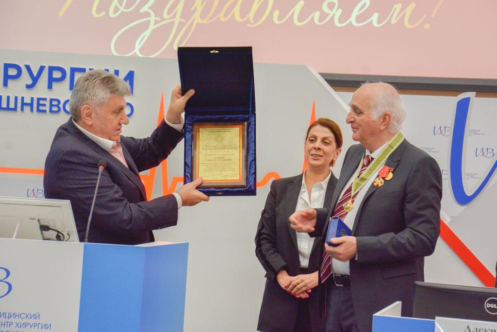 17 сентября состоялось мероприятие посвященное 70-летнему юбилею академика РАН Баграта Алекяна